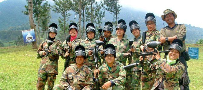Outbound-Team Building Training PT Bahtera Ratu Persada di Perkebunan Teh Gunung Mas Puncak