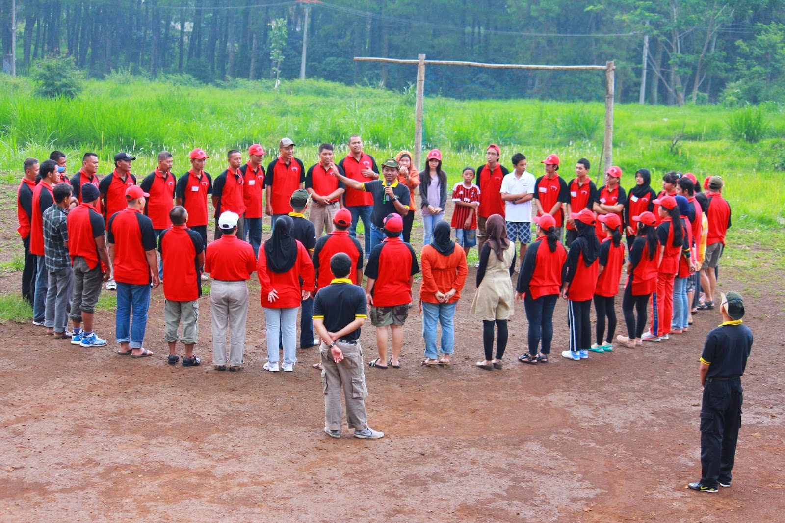 Outbound & Gathering 2012 PT Absolute Services in Puncak