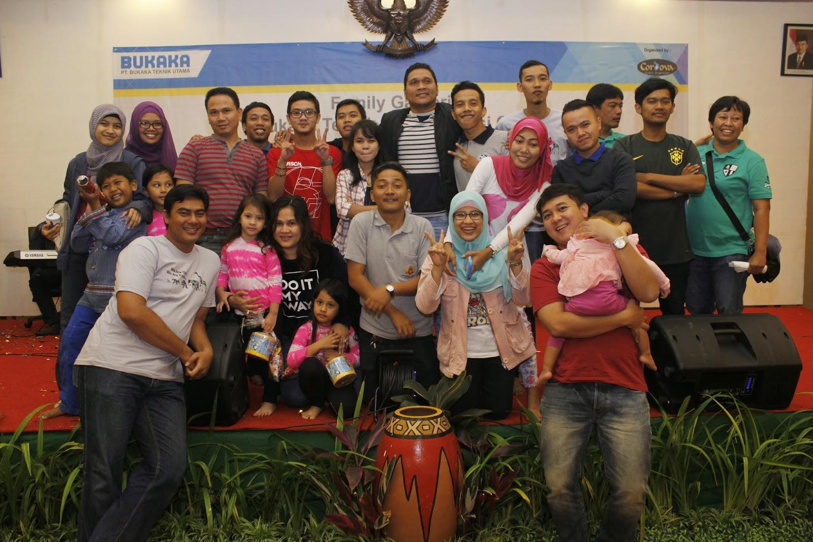 FAMILY GATHERING 2014 PT BUKAKA TEKNIK UTAMA IN PUNCAK