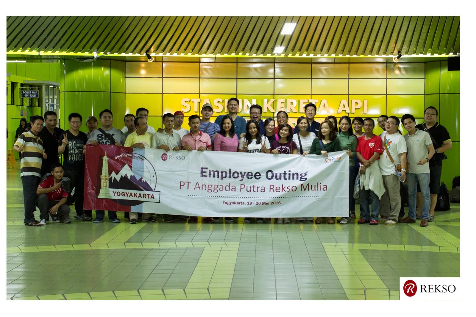 Employee Gathering 2016 PT Anggada Putra Rekso Mulia to Yogyakarta