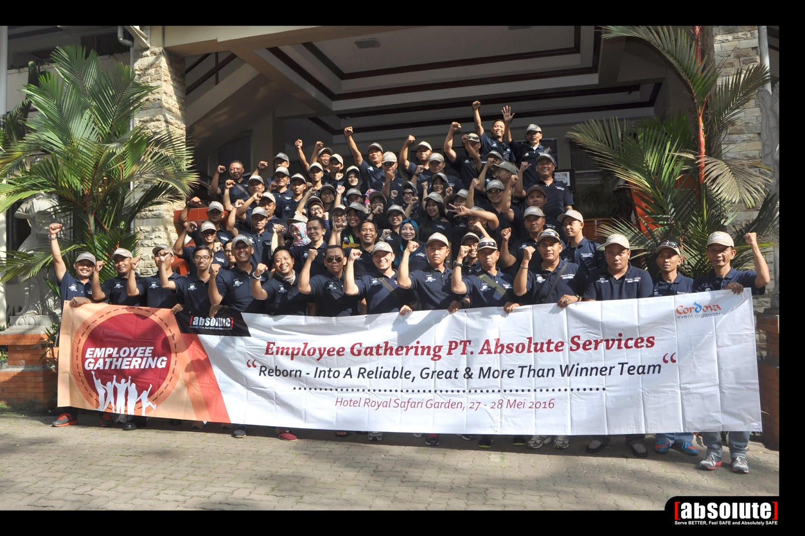 Employee Outbound 2016 PT Absolute Services in Royal Safari Garden Hotel Puncak