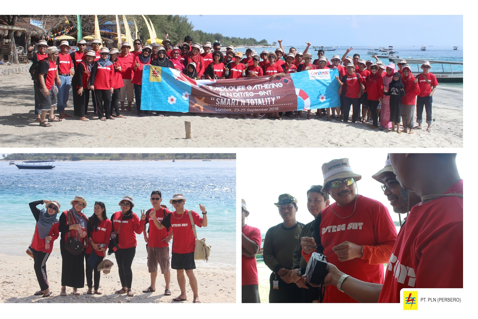 Employee Gathering 2016 PT PLN Persero to Lombok