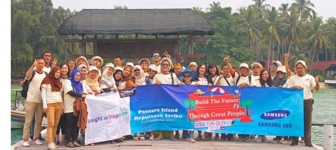Employee Gathering 2016 PT Samsung SDS Global SCL to Pantara Island