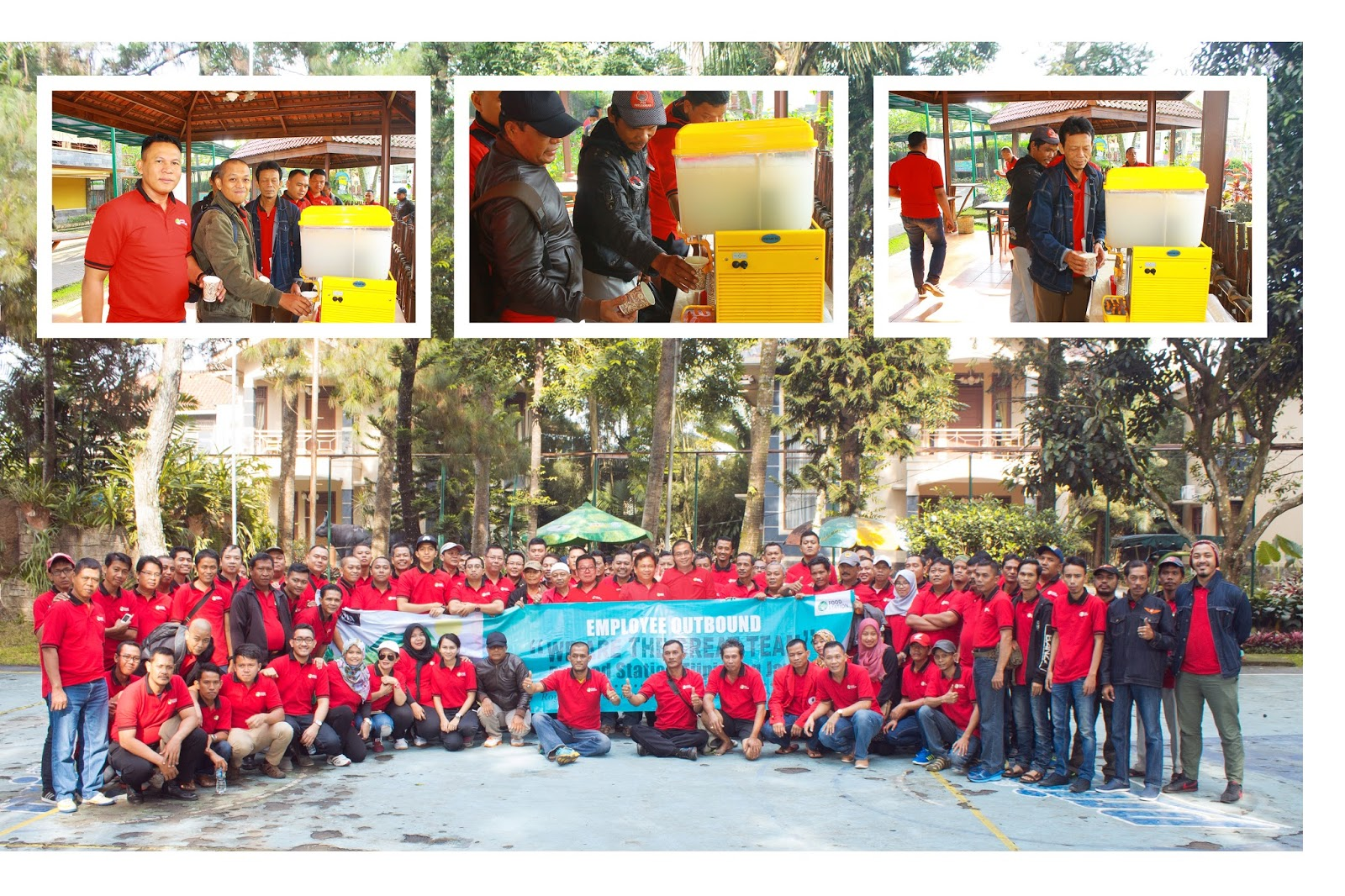 Employee Outbound 2016 PT Food Station Tjipinang Jaya to Puncak