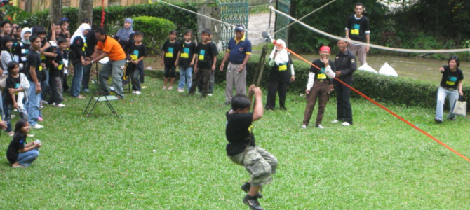 Outbound LPIA RAWA BELONG DI PUNCAK