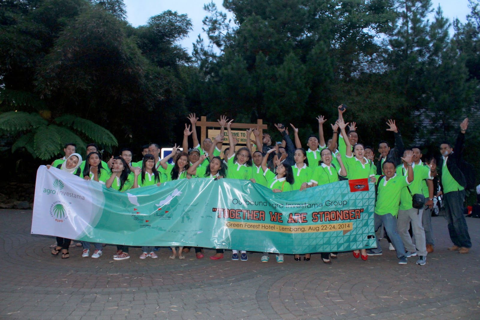 EMPLOYEE OUTBOUND 2014 AGRO INVESTAMA GROUP IN LEMBANG
