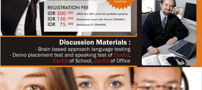 """""""One Day International Seminar and Workshop 2011 with Lance Knowles – Dyned USA"""""""