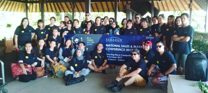 Team Building Training 2017 PARADOR Group in BATAM