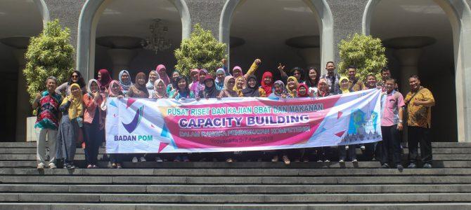 Capacity Building 2018 Pusat Riset & Kajian Obat dan Makanan BPOM RI to Yogyakarta