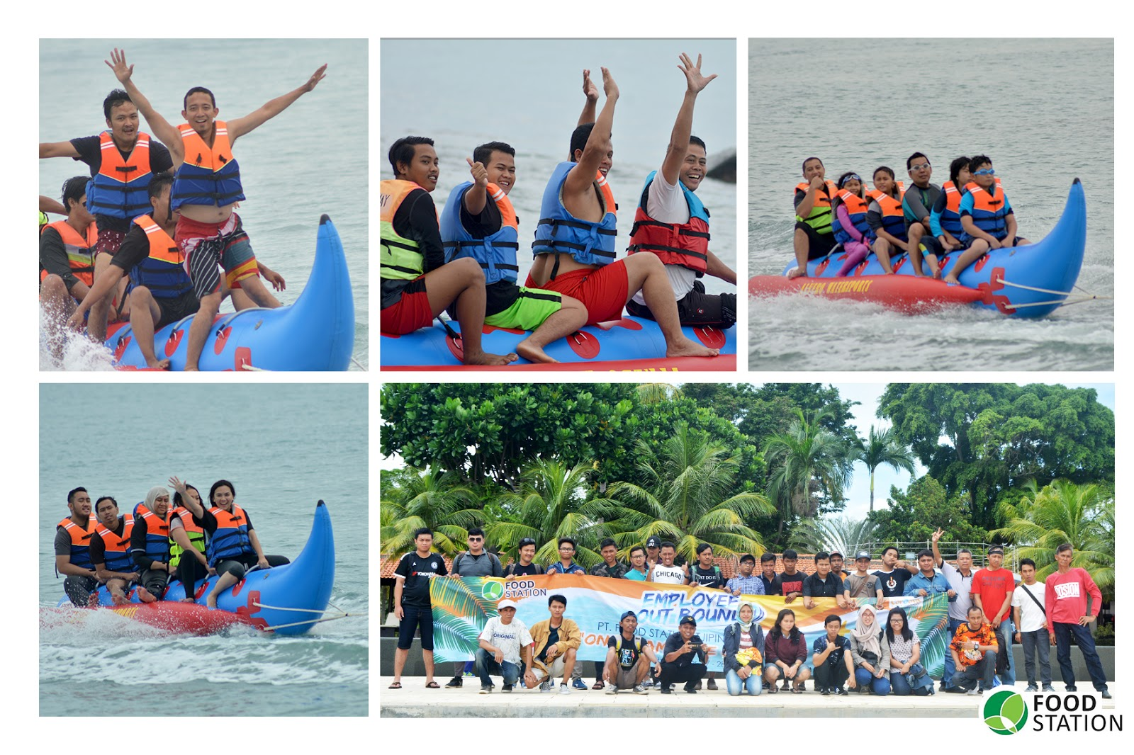 Employee Outbound 2018 PT Food Station Tjipinang Jaya to Mambruk Anyer