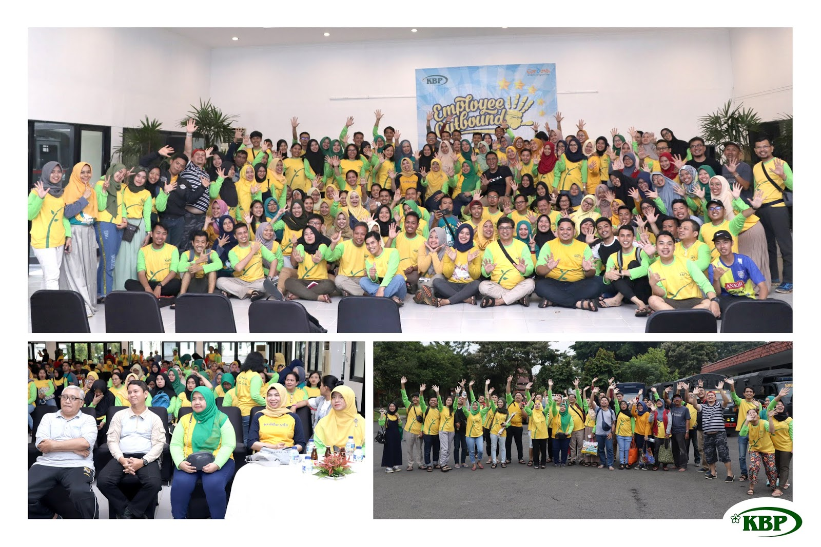 EMPLOYEE GATHERING (OUTBOUND & RAFTING) BATCH 1 2019 RS KARYA BHAKTI PRATIWI IN CARINGIN